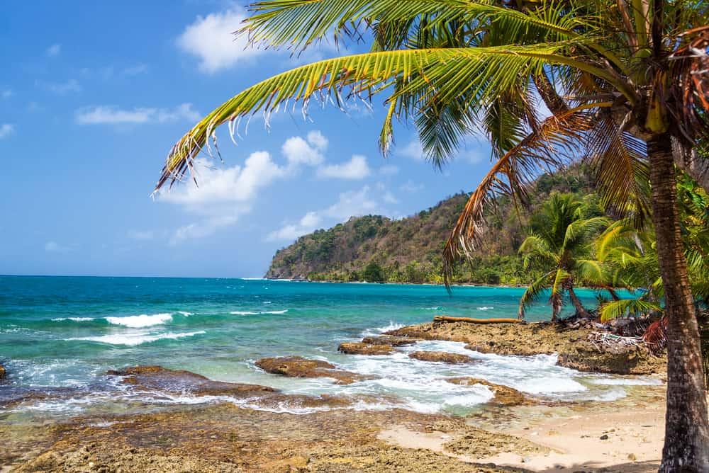 Beach La Miel near Sapuzurro
