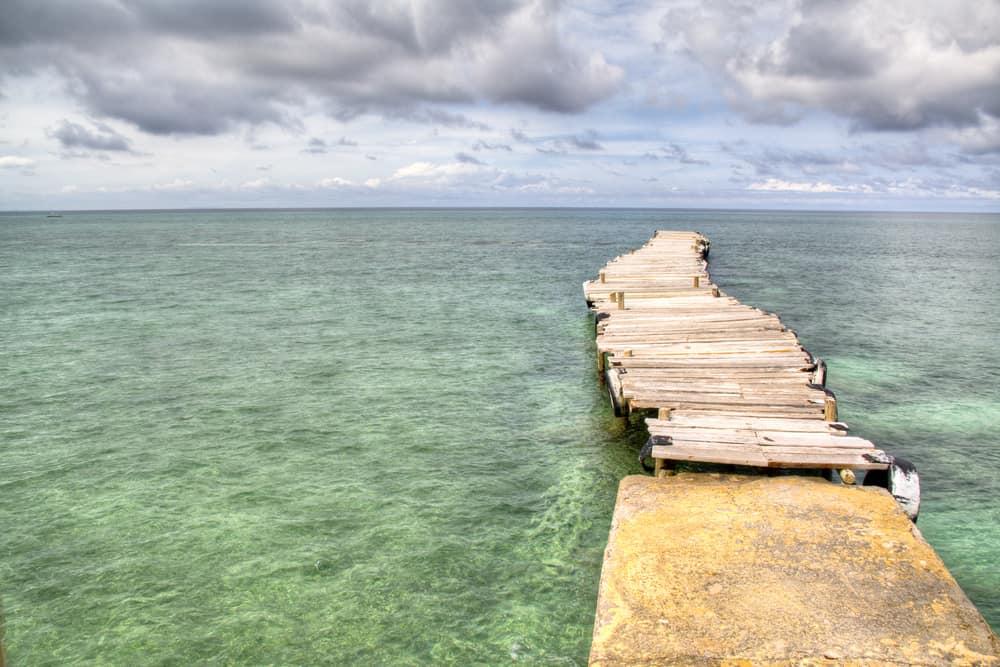 A dock in Isla Mucura