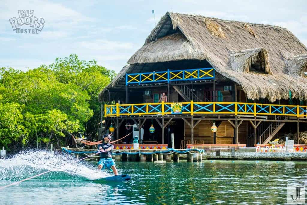 Isla Roots, private island with hostel. Water games