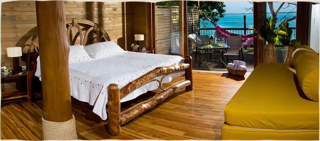 Punta Faro, best hotel in the archipelago of San Bernardo