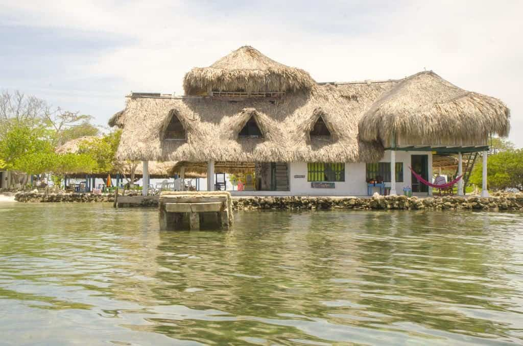 Punta Norte Hotel on Isla Tintipan, near the water