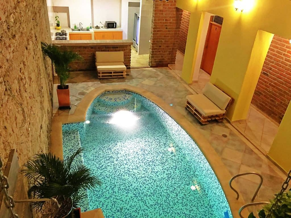 arsenal boutique hostel Cartagena Colombia