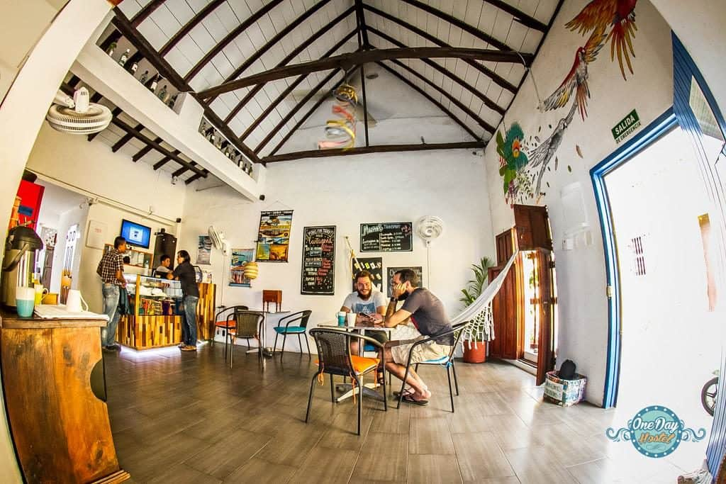 one day hostel Cartagena Colombia