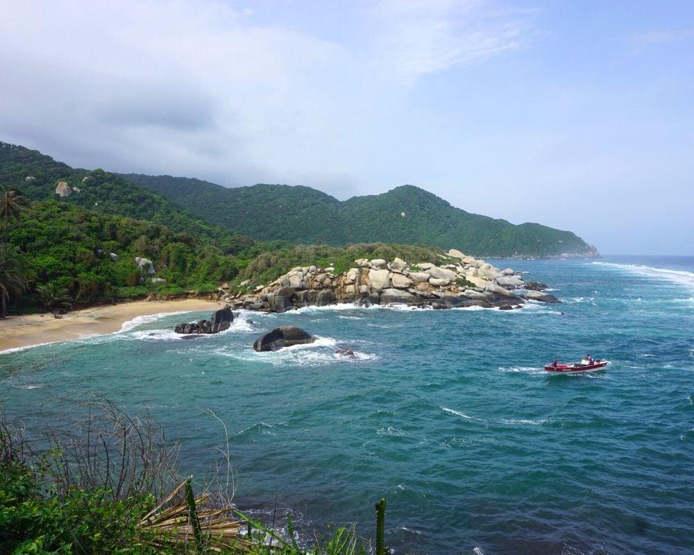 Beaches Tayrona Park