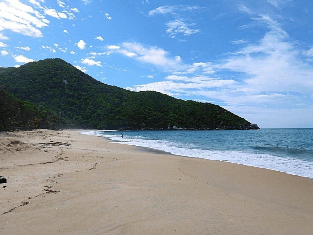Playa Nudista Tayrona Colombia