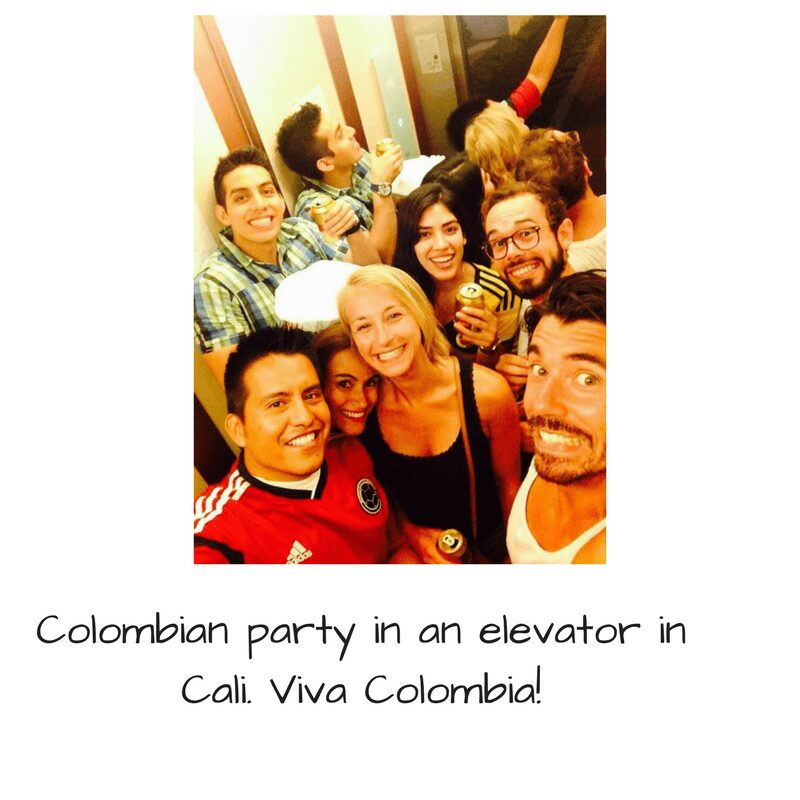 Colombia cali Friends