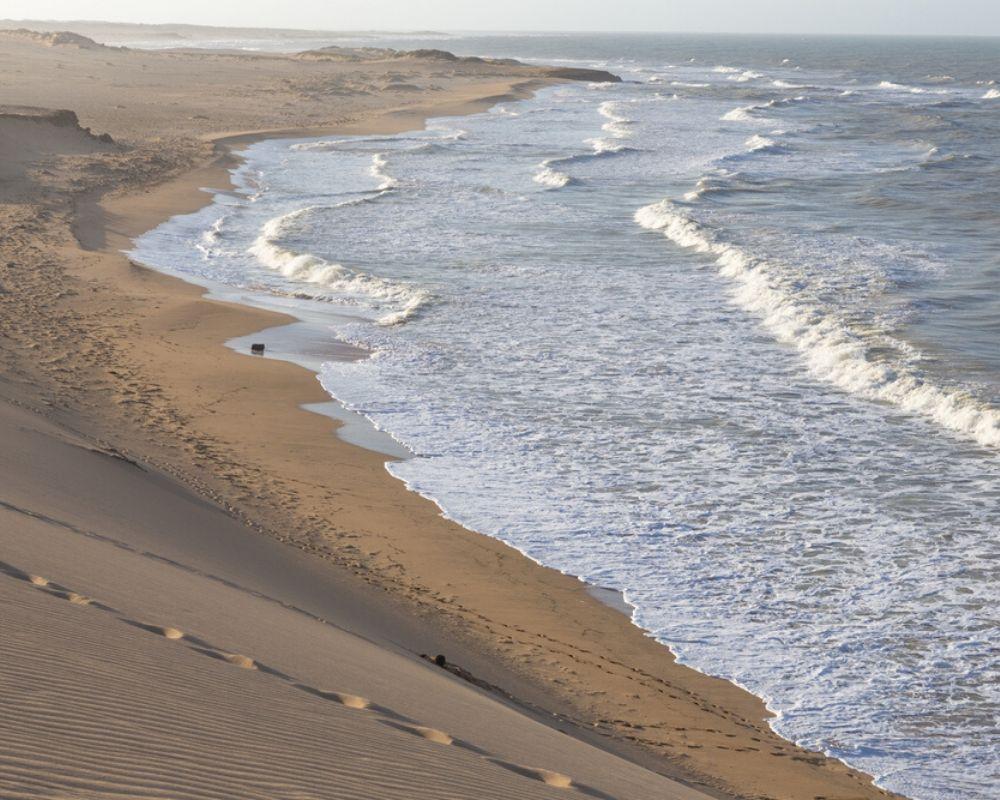 Dunes in Punta Gallinas