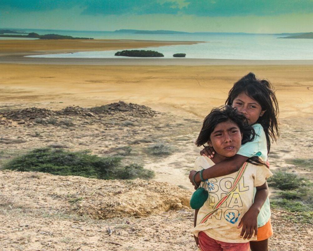 Kids in La Guajira