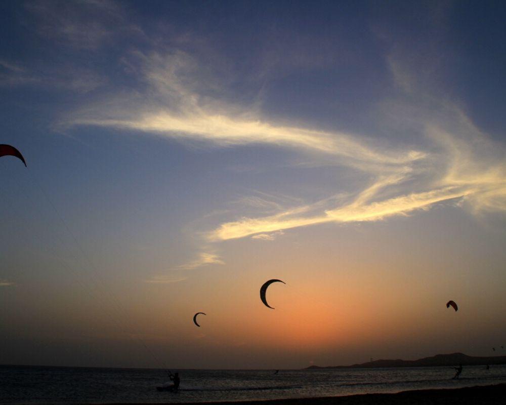 Kite surfing Cabo de la Vela