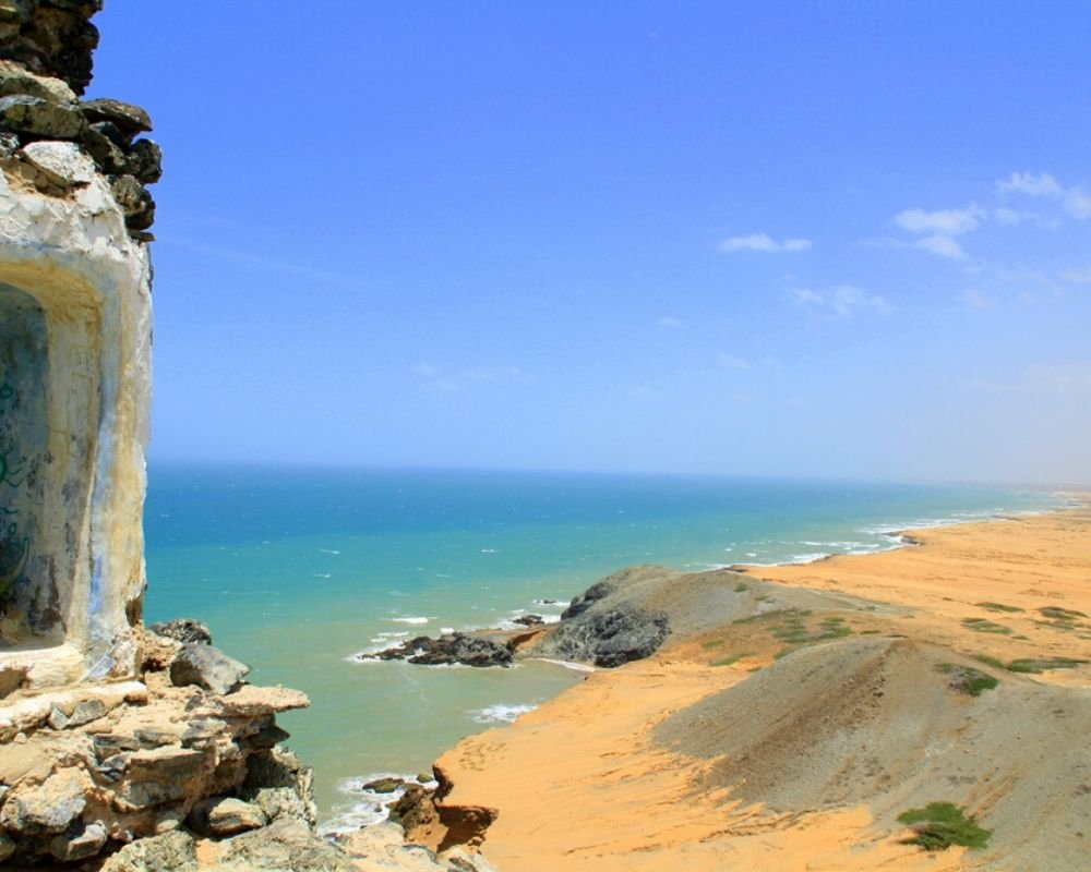 Playa Pan de Azucar Cabo de la vela