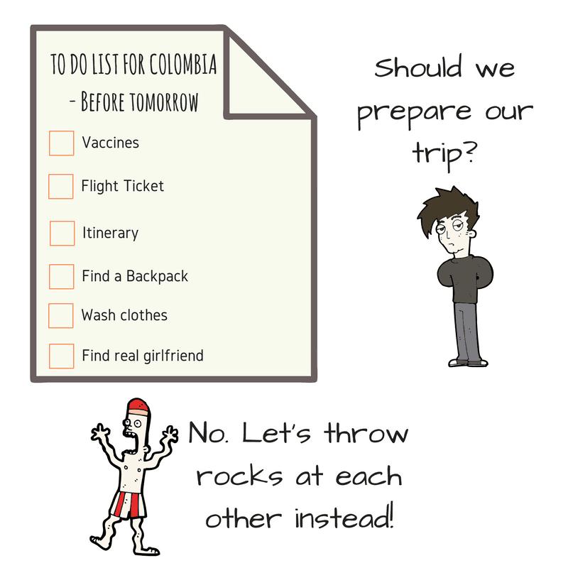 Procrastination Colombia