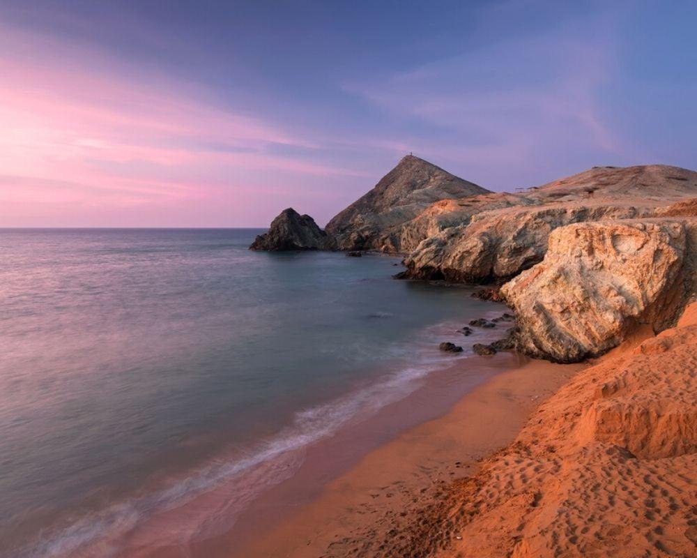Sunset from Cabo de la Vela