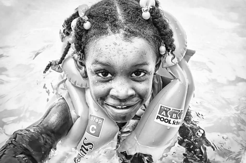 Colombian girl kid