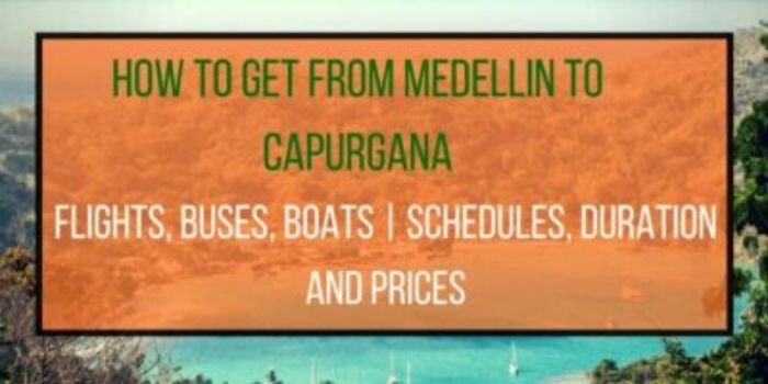 Easiest Ways to travel from Medellin to Capurgana, Colombia