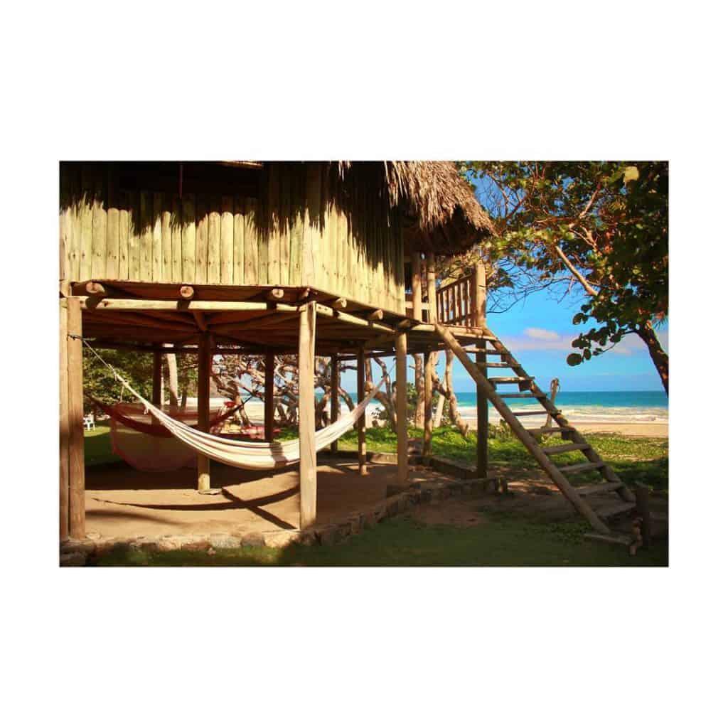 Playa Brava Camping in Tayrona