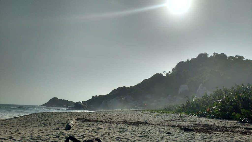 Camping in Tayrona Arrecife
