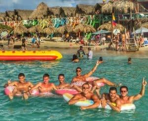 Playa Blanca beach Isla Baru