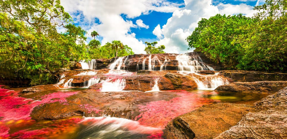 River Cano cristal in Tourist Colombia Attractions