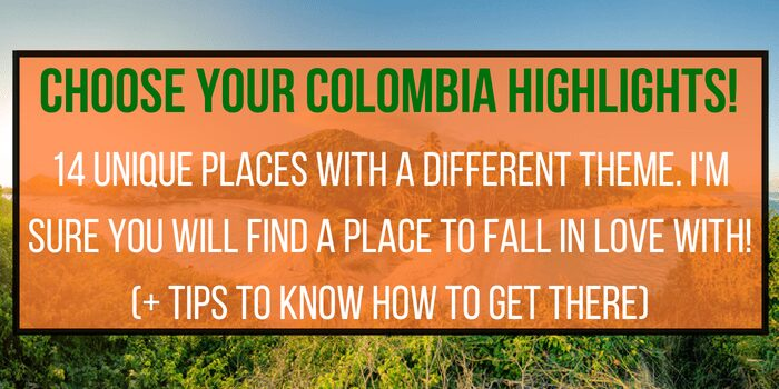 14 Colombia Tourist Attractions you Must Visit