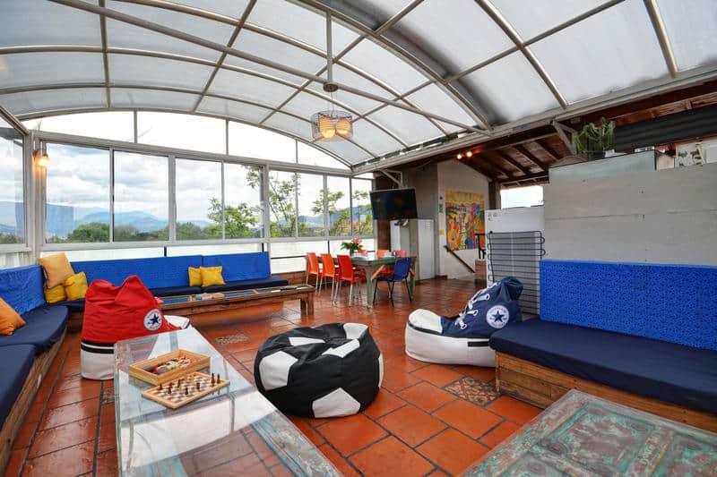 Internation House Hostel Where to stay in Medellin
