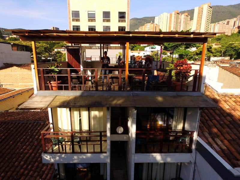 where to stay in Medellin - Casa Kiwi hostel