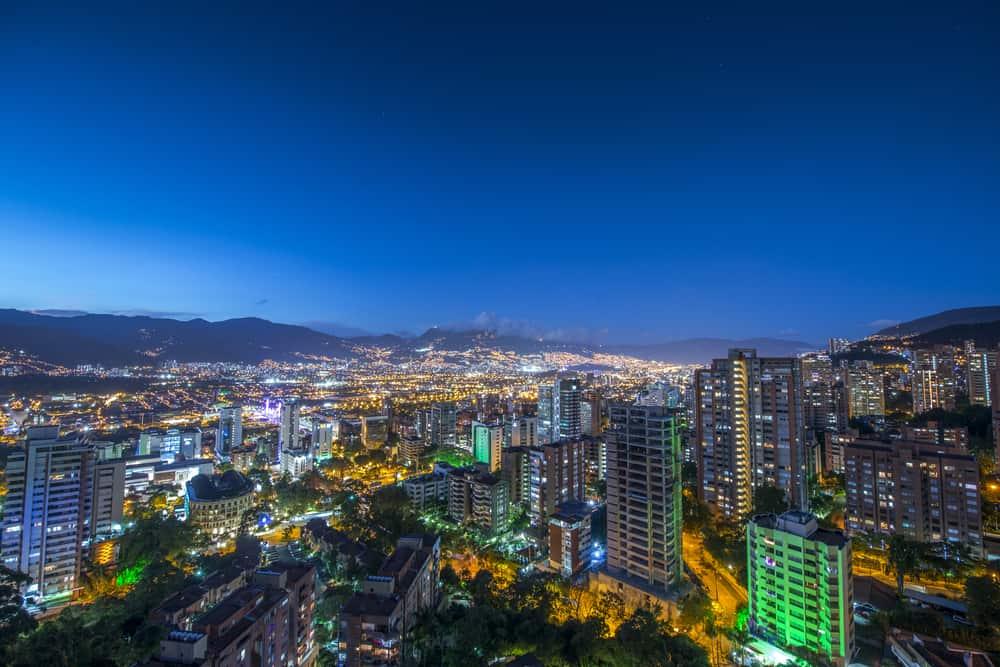 Sunrise in Medellin