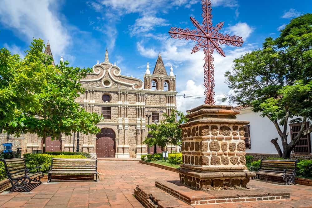Église Santa Fe De Antioquia aux alentours Medellín