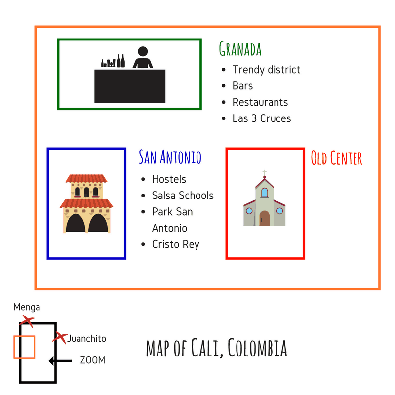 Maps of Cali Best cities to visit in Collombia