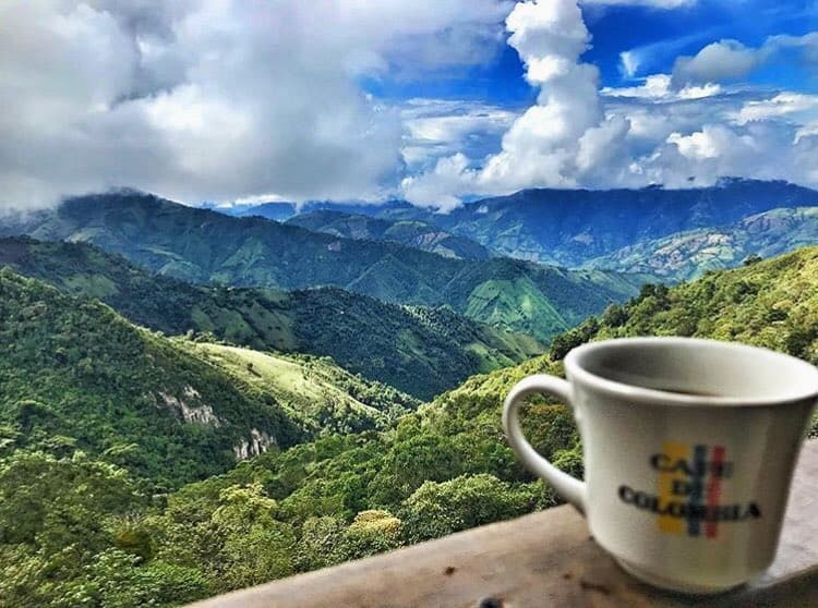 View from Casa En El Aire weekend trip from Medellin