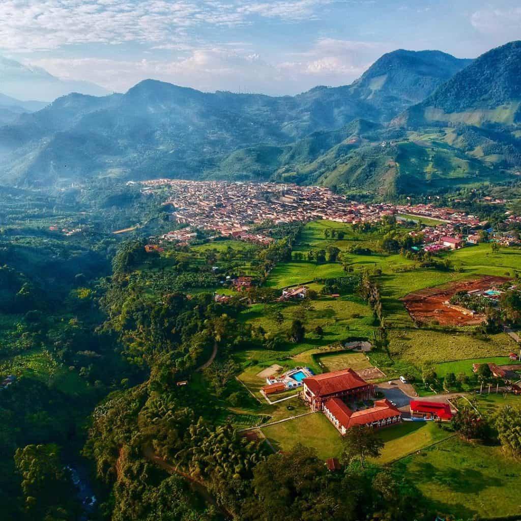 Jardin Colonial Town weekend trip from Medellin