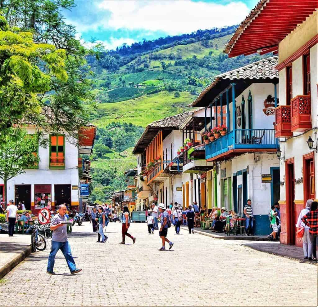 Jardin Colonial Town weekend trip from Medellin