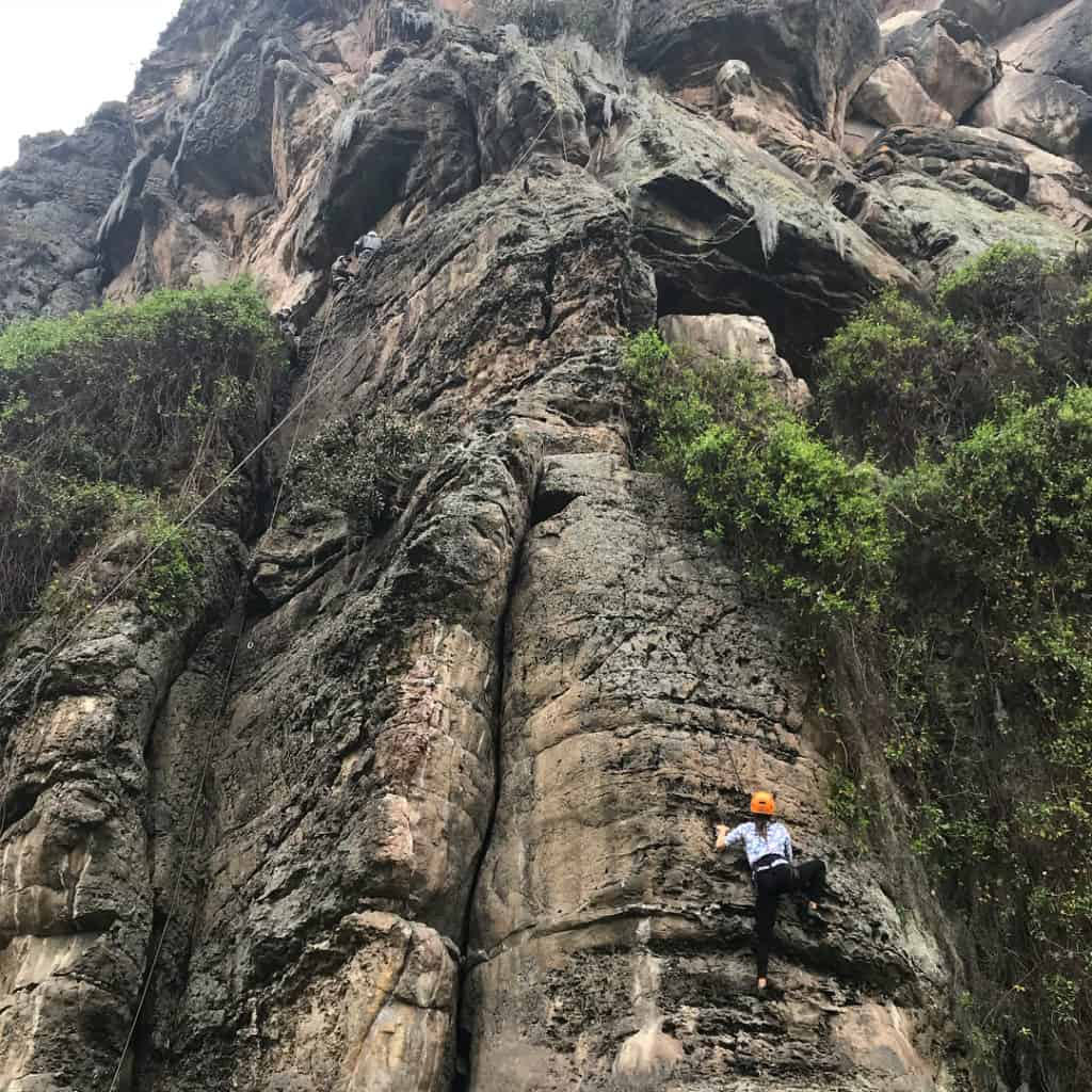 Rock Climbing in Suesca Weekend trips from Bogota