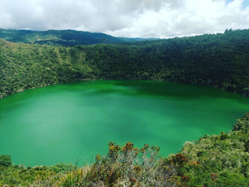 Le lac Guatavita