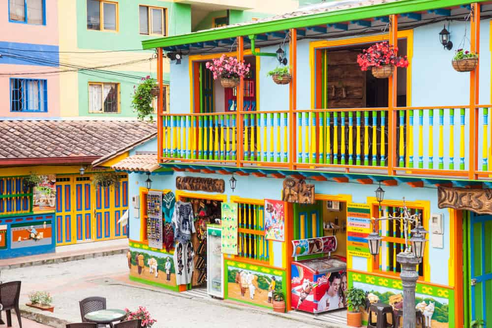 Colorful Balconies Guatape day trips from Medellin - E - Anamaria Mejia