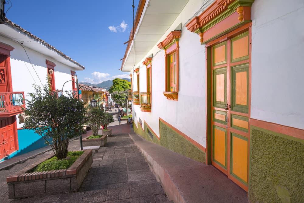 Une rue colorée de Jerico