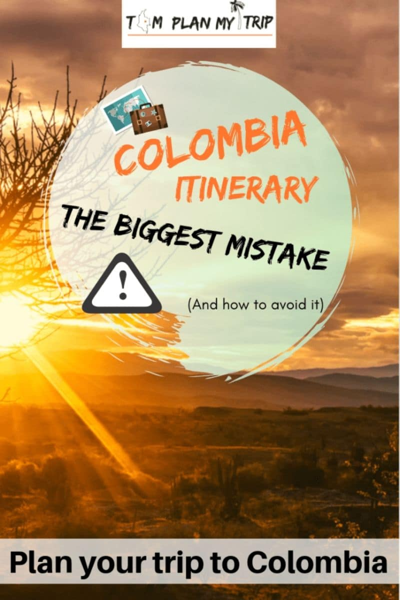 Gringo Colombia Itinerary