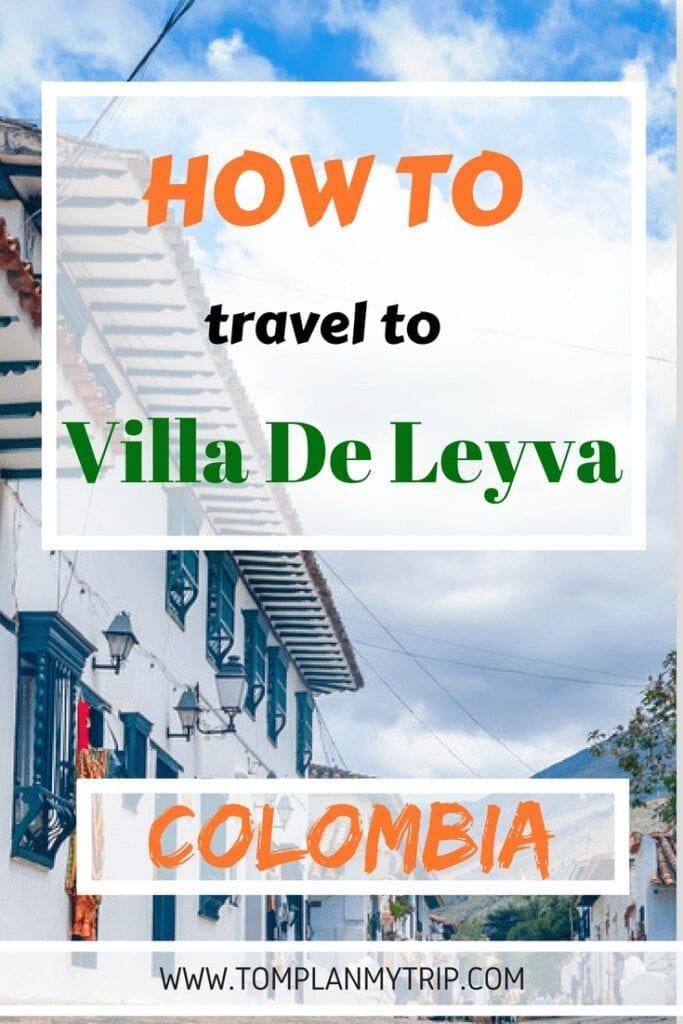 How to get to Villa de Leyva From Bogota