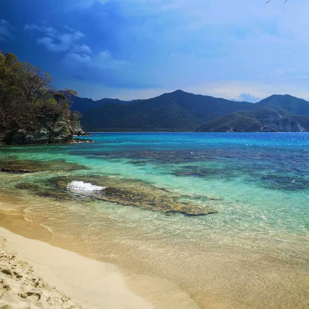 Playa Cristal in Tayrona