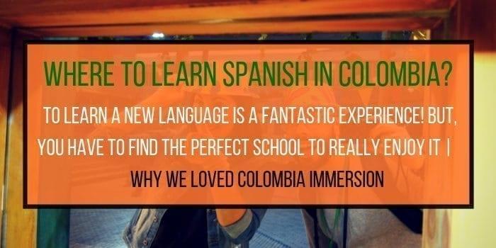 Colombia Immersion Spanish School Medellin