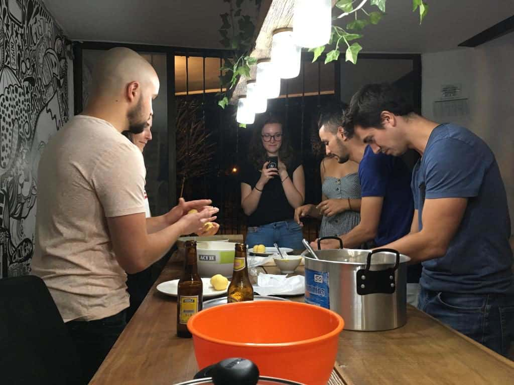 A free Cooking Class + Salsa Activity for free with Colombia Immersion
