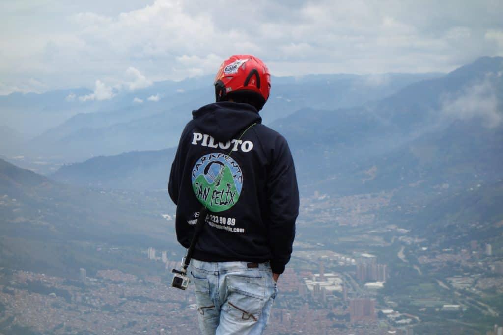 Paragliding Instructor Parapente San Felix