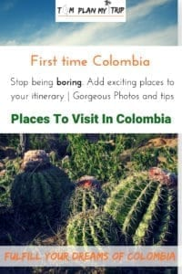 Places to travel to Colombia