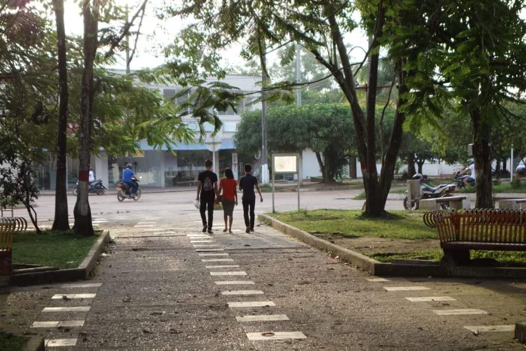 Main square San Jose del Guaviare