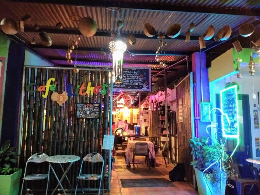 Cafe de Lithos in La Macarena
