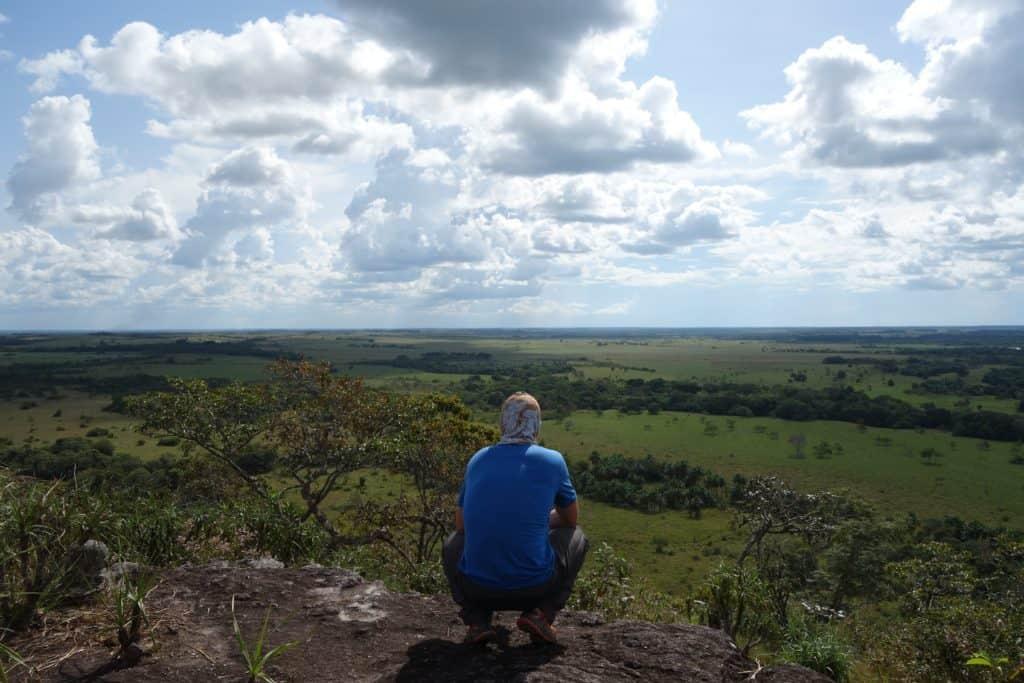 Viewpoint on the Llanos Orientales - Savanna