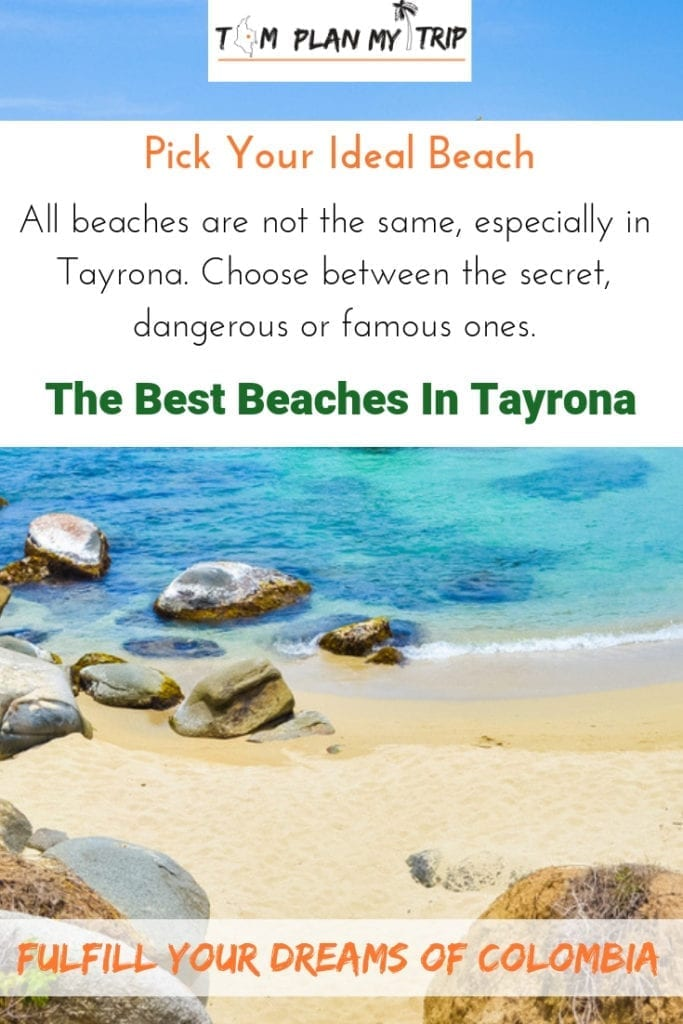 Beach in Tayrona