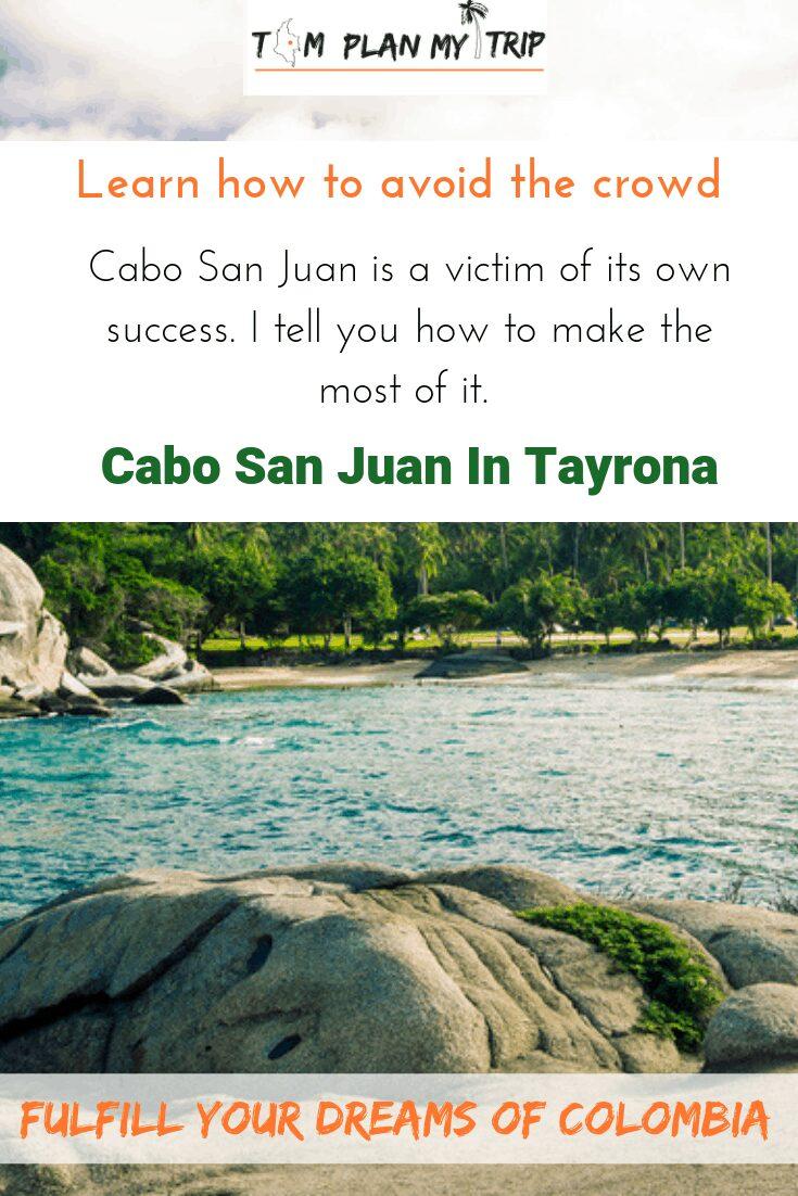 Cabo San Juan in Tayrona