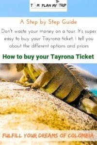 Tayrona National Park Tickets
