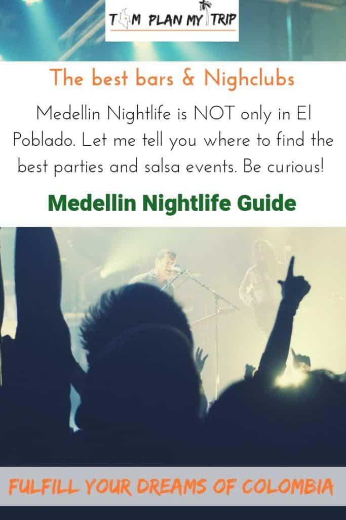 Pin Article Medellin Nightlife