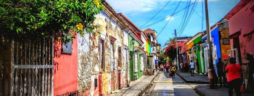 Rue de Getsemani, Que faire à Carthagène, Colombie